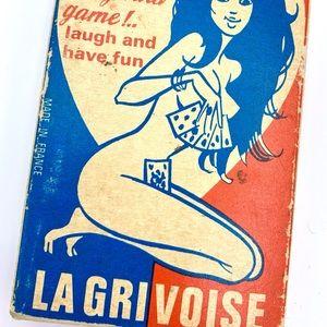 Vintage La Grivoise Adult Card Game